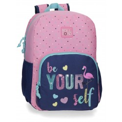 Mochila 40 cm de un Compartimento Adaptable a Carro Roll Road Be Yourself