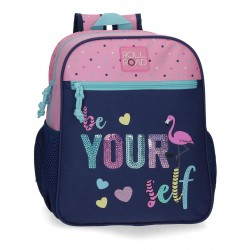 Mochila de Guardería 33 cm Adaptble a Carro Roll Road Be Yourself