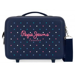 Neceser Rígido en ABS Pepe Jeans Molly Adaptable a Trolley