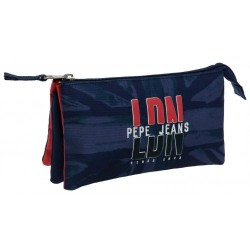 Portatodo 3 Compartimentos Pepe jeans LDN