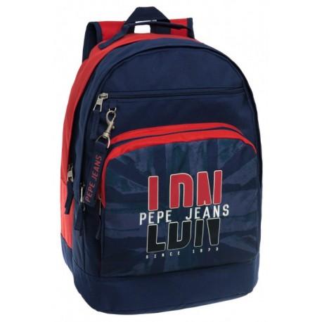 Mochila Doble Compartimento Pepe Jeans  LDN