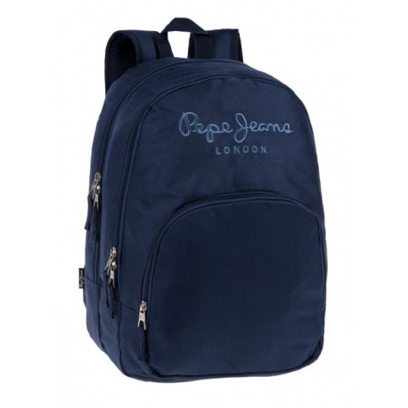 Mochila Doble Compartimento Adaptable a Carro  Pepe Jeans Navy
