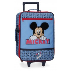 Maleta de Cabina Blanda de 2 Ruedas  Mickey Colección Moods