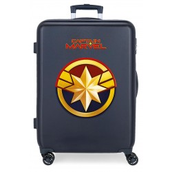 Maleta Mediana Rígida en ABS Captain Marvel