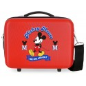 Neceser Rígido Adaptable a Trolley con Bandolera Have A Good Day Mickey Rojo