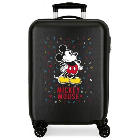 Maleta de Cabina Rígida en ABS Have A Good Day Mickey