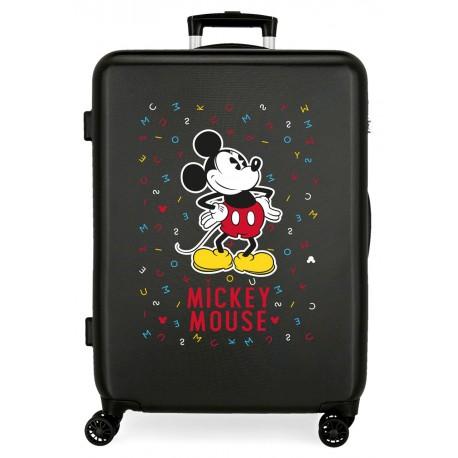 Maleta Mediana Rígida en ABS Have A Good Day Mickey