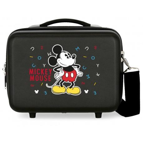 Neceser Rígido Adaptable a Trolley con Bandolera  Have A Good Day Mickey