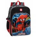 Mochila Doble Compartimento Adaptable a Carro  Spiderman