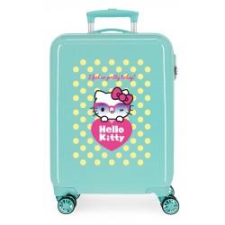 Maleta Cabina Rígida en ABS de 4 Ruedas Hello Kitty Pretty Glasses