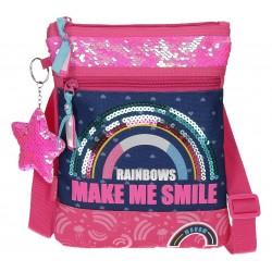 Bolso con Bandolera Movom Glitter Rainbow
