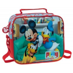 Neceser Adaptable con Bandolera MICKEY PLAY