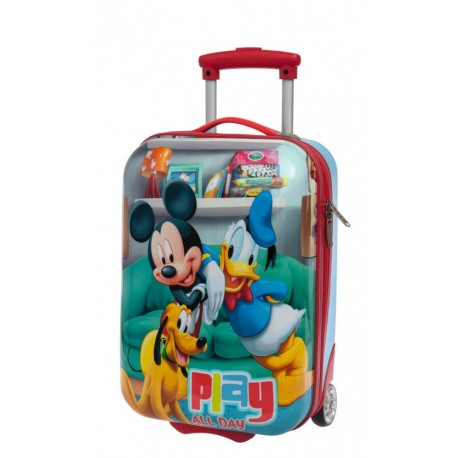 Trolley Infantil  MICKEY PLAY 48 CM