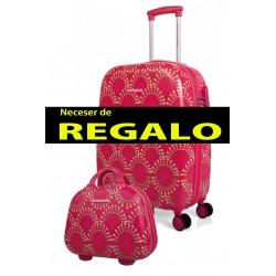 Trolley Cabina  Agatha Ruiz de la Prada Spring Fucsia + Neceser de Regalo