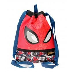 Saco de Cuerdas Spiderman Comic en Rojo