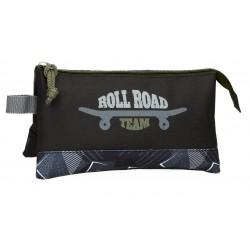 Portatodo de Tres Compartimentos Roll Road Team