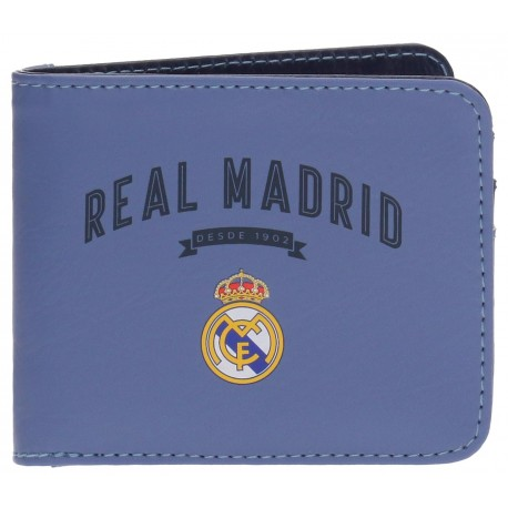 Billetero Strokes Azul Real Madrid