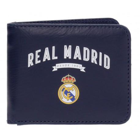 Billetero Vintage Marino Real Madrid