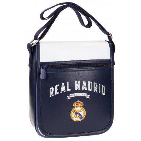 Bandolera Vintage Marino Real Madrid