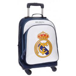 Trolley Mochila 4 Ruedas Real Madrid