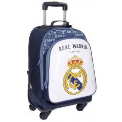 Trolley Mochila 4 Ruedas Real Madrid champions