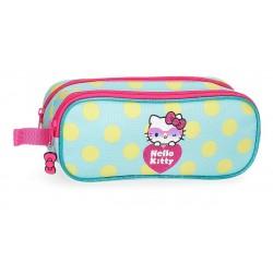 Portatodo Doble Compartimento Hello Kitty Pretty Glasses
