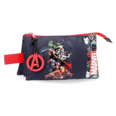 Portatodo de Tres Compartimentos  Avengers Team