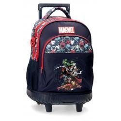Mochila Compacta Reforzada con Ruedas Avengers Team