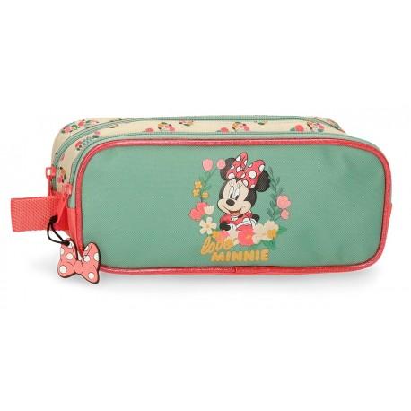 Portatodo Doble Compartimento  Minnie Golden Days