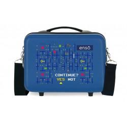 Neceser Rígido en ABS Adaptable a Trolley Enso Gamer Azul