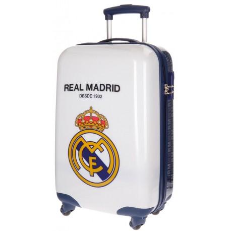 Maleta Trolley  de Cabina 4 Ruedas Real Madrid