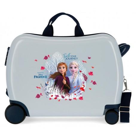 Maleta Infantil Correpasillos 50cm y 4 Ruedas Frozen II Trust Your Journey