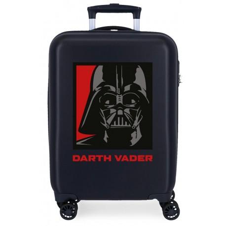 Maleta Cabina Rígida en ABS de 4 Ruedas Star Wars Droids Vader Marino Oscuro