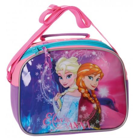 Neceser Infantil con Bandolera y Adaptable Frozen