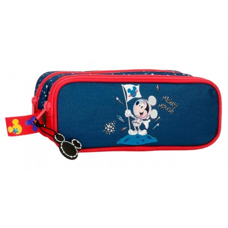 Portatodo Doble Compartimento  Mickey On The Moon