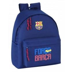 Mochila 40cm con Bolso Frontal del Barcelona