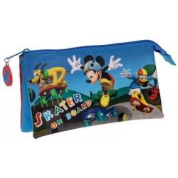 Estuche triple de Mickey