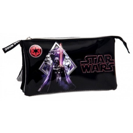 Estuche triple compartimento de Star Wars 2194351