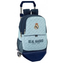 Mochila Grande con Carro y Redes laterales del Real Madrid Corporativa
