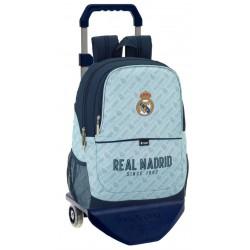 Mochila Grande con Carro y Redes laterales del Real Madrid Corporativa