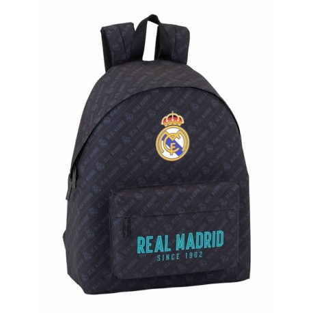Mochila del Real Madrid Since  1902 Negro