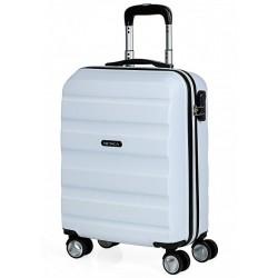 Trolley Cabina  ABS, 4 ruedas Itaca blanco