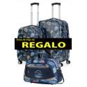 Juego maleta Cabina y Mediana Lois Saint Maurice de 4 Ruedas, en ABS Print