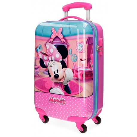 Trolley de Cabina Minnie Smile, ABS, 4 Ruedas