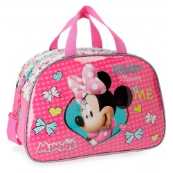 Bolsa de Viaje  40 cm Minnie Happy Helpers, en Relieve 3D