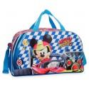 Bolsa de Viaje  de 45 cm Mickey Race con Asa y Bandolera