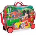Maleta Infantil Correpasillos Mickey Race de 50 cm