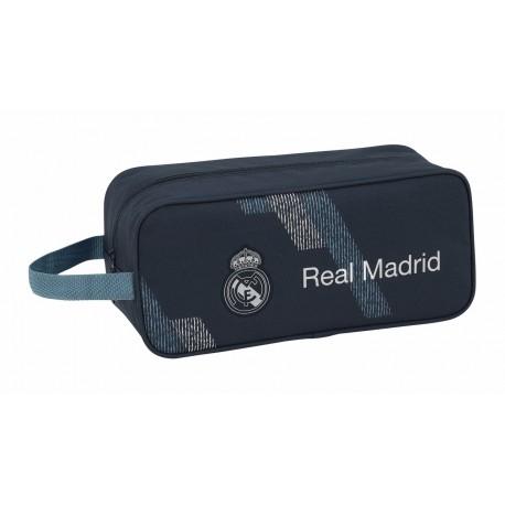 Zapatillero con Asa Lateral Real Madrid Dark Grey