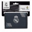 Billetera del Real Madrid Colección Dark Grey