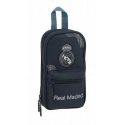 Estuche 4 Portatodos Vacíos Real Madrid Colección Dark Grey